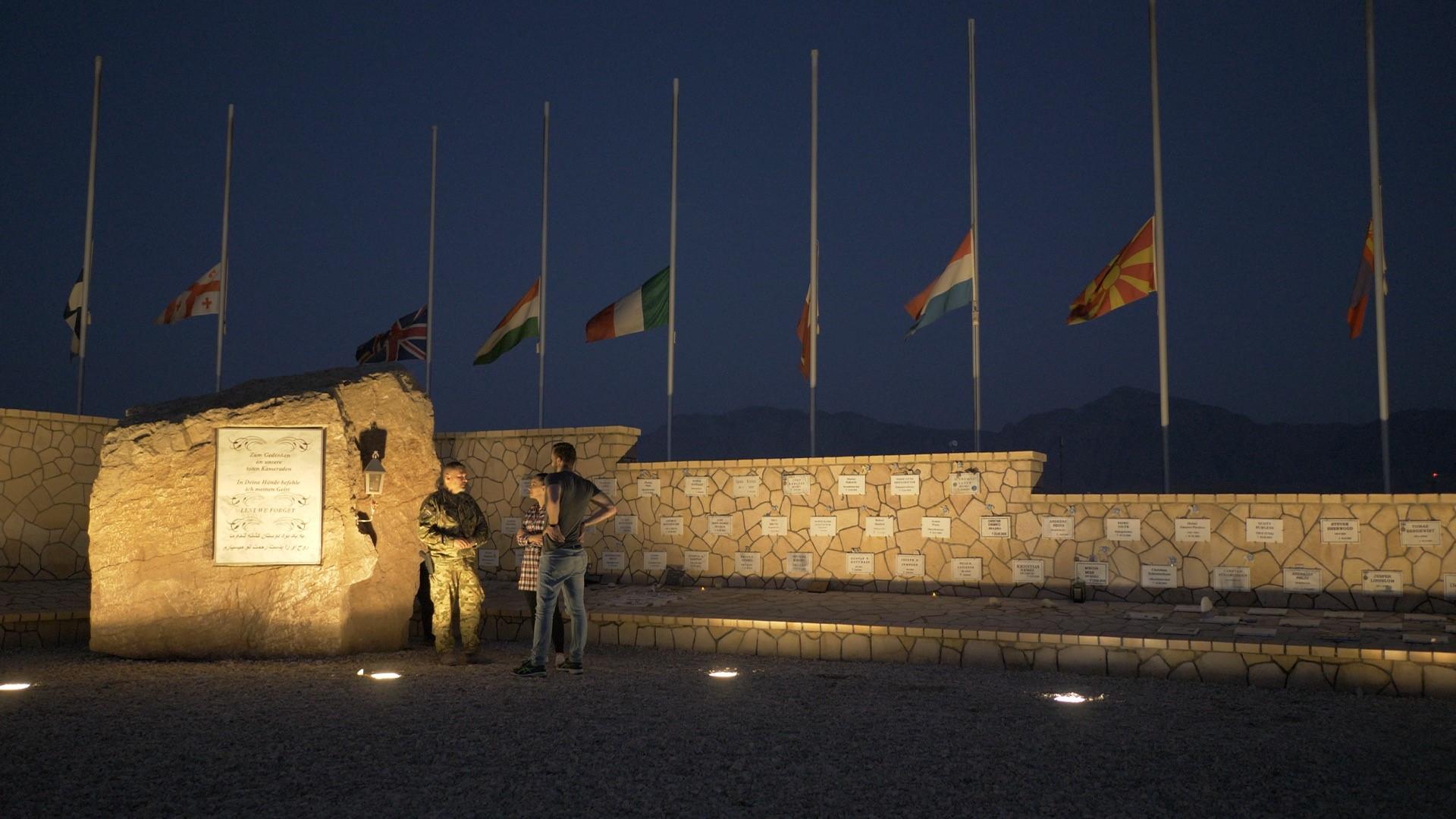 Mazar-e Sharif magyar katonái