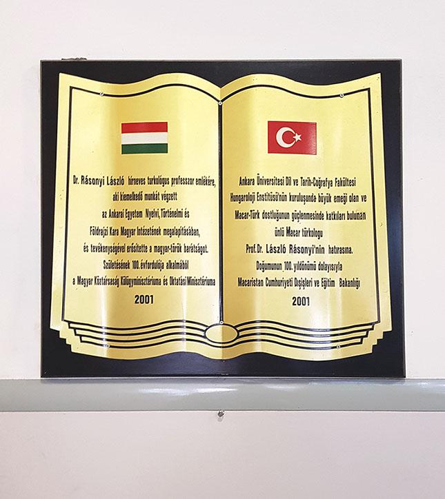 Ankarai Egyetem Hungarológiai Tanszéke