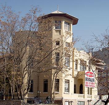 Az ankarai Magyar Nagykövetség régi épülete